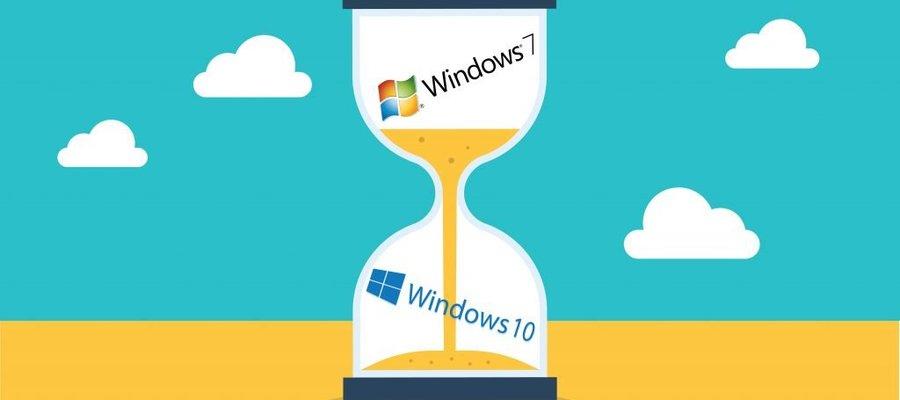 Fim do suporte ao Windows 7 terminará em 14/01/2020