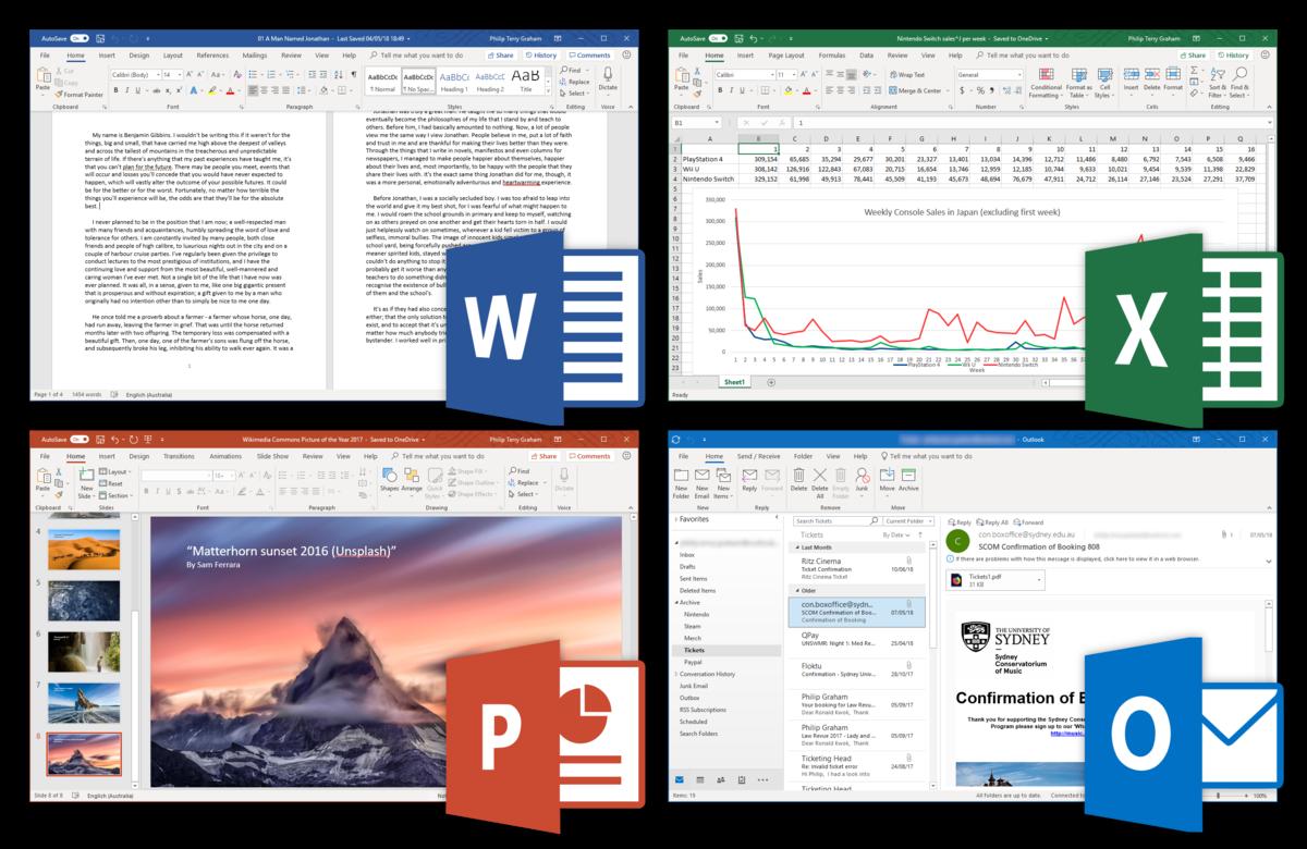 Office 2019 disponível para windows e Mac